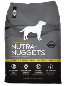 Nutra Nuggets Professional for Dogs - Sausas maistas suaugusiems šunims, patiriantiems didelius fizinius krūvius (15kg.)