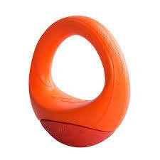 Rogz POP-UPZ - Rogz kietas žaislas šunims. Oranžinis svyruojantis žiedas (S/M)