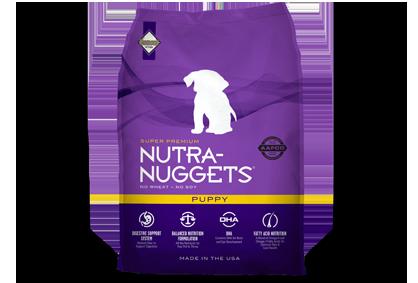 Nutra Nuggets Puppy - Sausas maista šuniukams nuo nujunkymo iki užaugimo (3kg.)