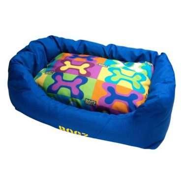 Rogz Dog Bed - Rogz guoliai šunims. Minkštas guolis šunims su dvipusę pagalvę (88x55x26cm.)