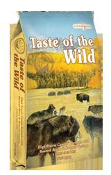 Taste of The Wild with Roasted Bison and Roasted Venison - Sausas maistas visoms amžiaus grupėms šunims su paskrudintu bizonu ir elniena (13kg.)