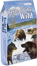 Taste of The Wild with Smoked Salmon - Taste of The Wild Sausas maistas visoms amžiaus grupėms šunims su rūkyta lašiša (13kg.)