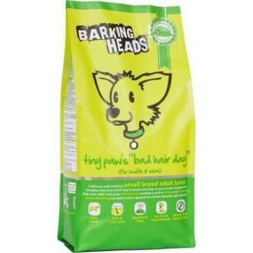 Barking Heads Tiny Paws Bad Hair Day - Sausas Maistas Mažų Veislių Šunims (4kg.)
