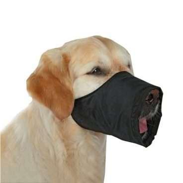 Trixie - Antsnukiai šunims. Nailoninis reguliuojamas antsnukis šunims M (snukio apimtis 24cm.)