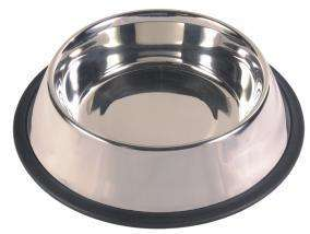 Trixie Cat Bowls - Dubenėliai katėms. Dubenėlis su guminiu pagrindu 250ml./11cm.