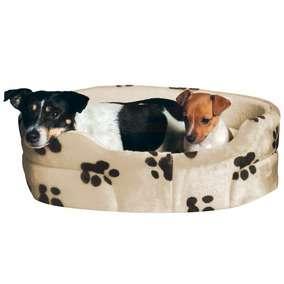Trixie - Guoliai šunims. Minkštas guolis su pėdutėmis 65x55cm.