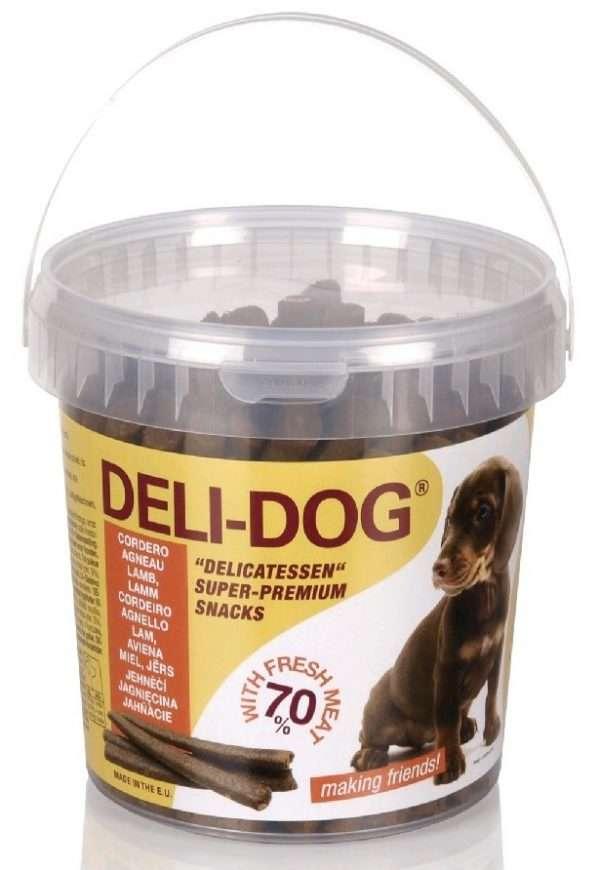 Deli - Dog Skanėstai šunims su ėriena (800g.)