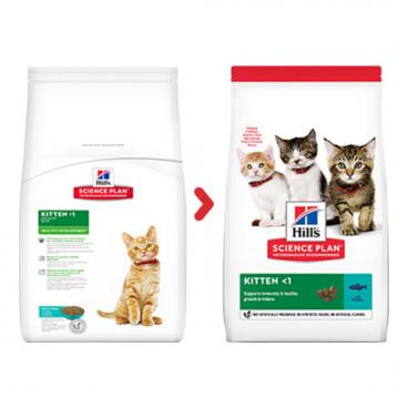 sausas maistas katėms - kačiu pašaras - sausas maistas kačiukams su tunu
