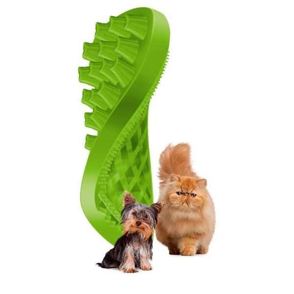 šukos mažų veislių šunims šunims - šukos šunims ir katėms - SILIKONINĖS ŠUKOS ŠUNIMS ir katėms