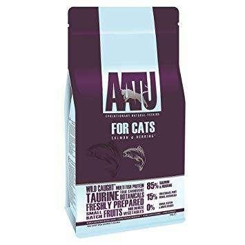 Pašaras Katėms Su Antiena - AATU pašaras katėms - sausas maistas katėms Su Lašiša Ir SilkeSu Lašiša Ir Silke