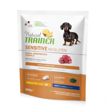 susas maistas šunims - Natural Trainer pašaras šunims - pašaras šunims su antiena