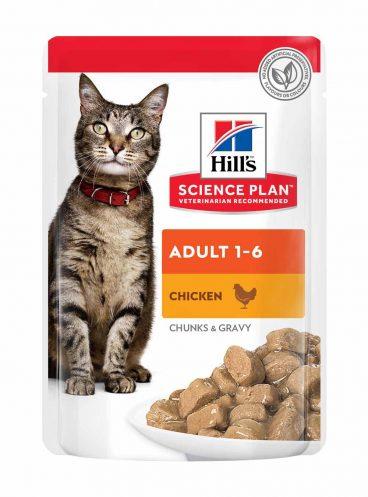 konservuotas pašaras katėms - guliašas katėms su vištiena - konservai katėms su vištiena
