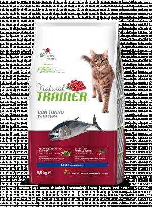sausas maistas katems - suaugusiems katems su tunu - sausas maistas su tunu katei