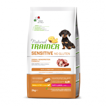 sausas maistas šunims - Natural Trainer pašaras šunims - sausas maistas šunims su antiena