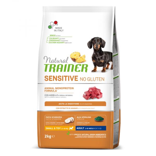 sausas maistas šunims - Natural Trainer pašaras šunims - sausas maistas šunims su ėriena