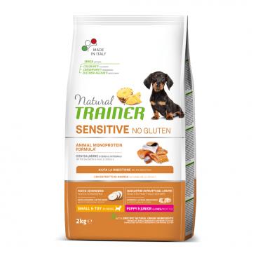 sausas maistas šunims - Natural Trainer pašaras šunims - sausas maistas šunims su lašiša
