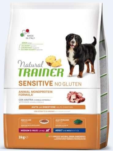 sausas maistas šunims - Trainer pašaras šunims - sausas maistas šunims be gliuteno