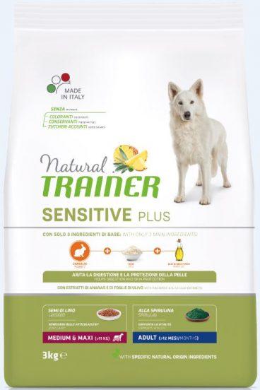 sausas maistas šunims - Trainer pašaras šunims - sausas maistas suaugusiems šunims su triušiena