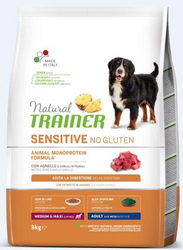 sausas maistas šunims - Trainer pašaras šunims - sausas pašaras su ėriena