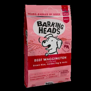 sausas maistas sunims - barking heads dog - sausas maistas sunims su jautiena