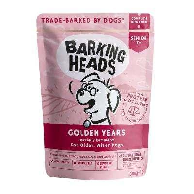 BARKING HEADS Wet Golden Years - BARKING HEADS konservai suaugusiems šunims - konservai suaugusiems šunims