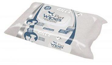 GILL'S Pet Wipes - Servetėlės Augintiniams Neutralaus Kvapo - Drėgnos servetėlės šunims ir katėms