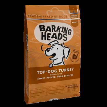 sausas maistas sunims - barking heads dog - sausas maistas sunims su kalakutiena