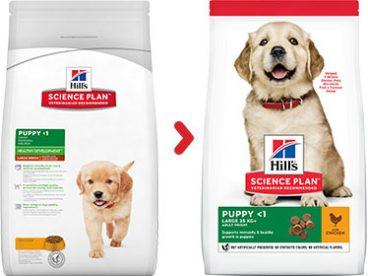 Hill's sausas maistas šunims - ėdalas šuniukams su vištiena- sausas maistas šunims su vištiena