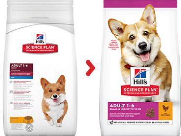 ėdalas šunims su vištiena - sausas maistas šunims su vištiena - Hill's sausas maistas šunims