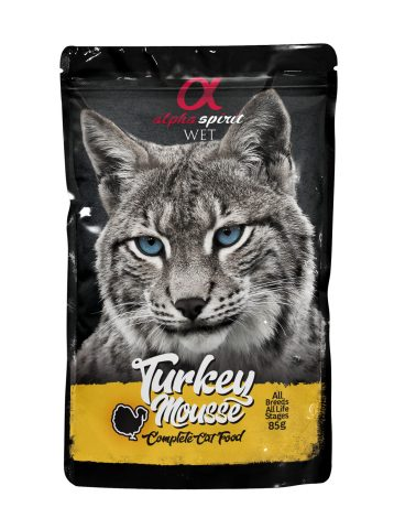ALPHA SPIRIT WET - guliašas katėms su kalakutiena - šlapias maistas katėms