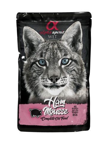 ALPHA SPIRIT WET - guliašas katėms su kumpiu - šlapias maistas katėms
