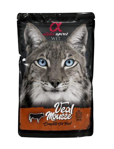 ALPHA SPIRIT WET - guliašas katėms su jautiena - šlapias maistas katėms