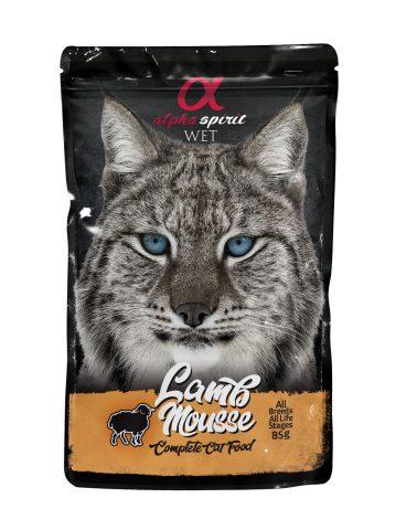ALPHA SPIRIT WET - guliašas katėms su ėriena - šlapias maistas katėms