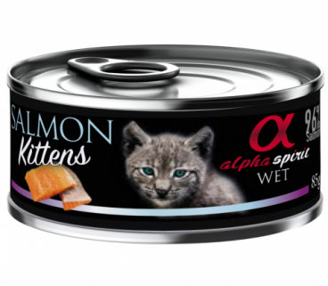 ALPHA SPIRIT CAT - konservai katėms - konservai kat4ms su lašiša