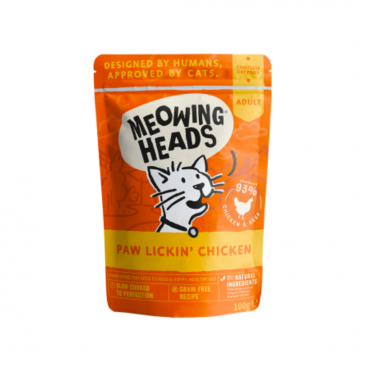 MWCK100 MEOWING HEADS Paw Lickin' Chicken -
