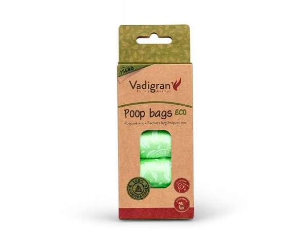 VDG POOP BAGS ECO MAIŠELIAI IŠMATOMS - maišeliai šunims - vienkartiniai maišeliai išmatoms