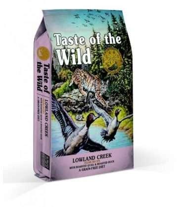 61442 Taste of the Wild Lowland Creek - Taste of the Wild Sausas Maistas Katėms - Sausas Maistas Katėms su kepinta putpeliena ir antiena