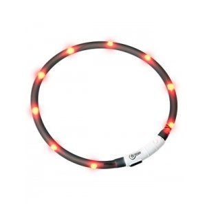64961 LED antkaklis šunims-šviečiantis - antkaklis šunims - LED šviečiantis antkaklis šunims