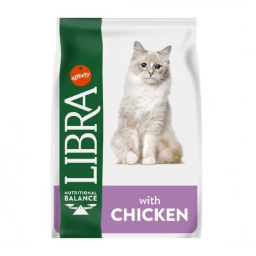 LIBRA CAT STERILIZED - Pašaras Katėms su Vištiena - Sausas Maistas Katėms