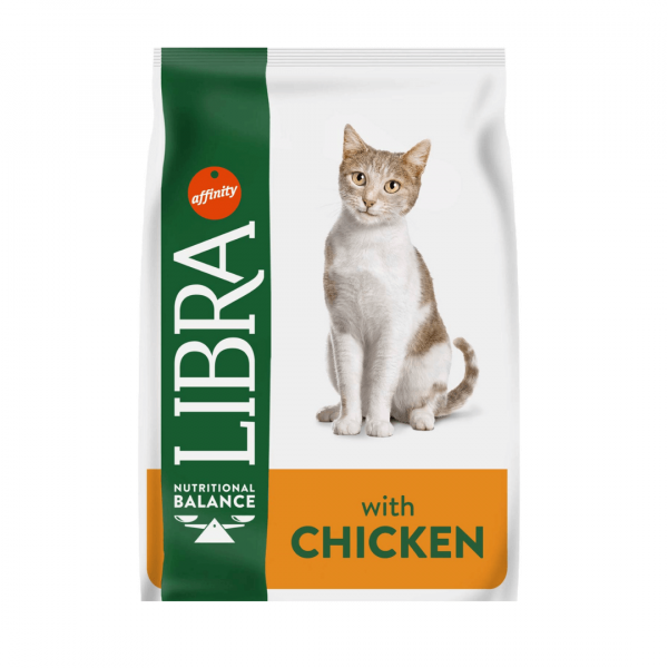 LIBRA CAT URINARY - Pašaras Katėms su Vištiena - Sausas Maistas Katėms