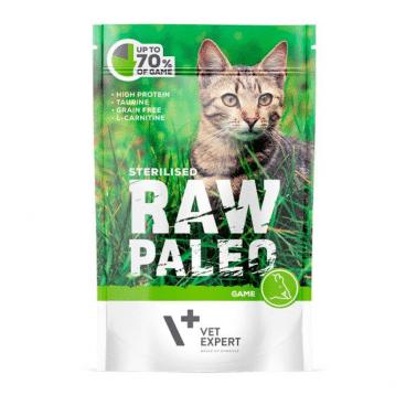 Raw Paleo Cat Adult Beef - Guliašas Sterilizuotoms Katėms - Guliašas Katėms