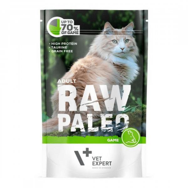 Raw Paleo Cat Adult Beef - Guliašas Vyrasnio Amžiaus Katėms - Guliašas Katėms