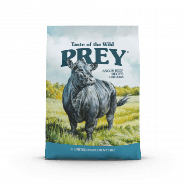 Angus Beef Limited Ingredient Recipe - Prey sausas maistas šunims - sausas maistas šunims su jautiena