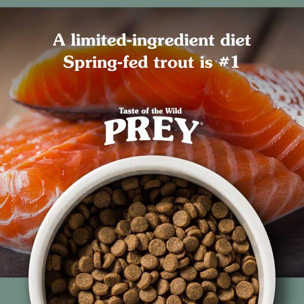Trout Limited Ingredient Recipe - Prey sausas maistas šunims - sausas maistas šunims su žuvimi