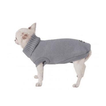 C7174198 Croci MOSCOW GREY - megztinis šunims - drabužiai šunims