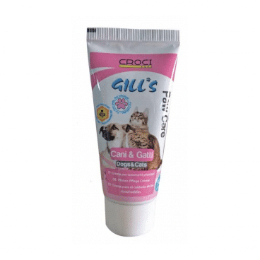 C3052804 CROCI GILL'S Pėdučių Kremas - pėdučių krėmas šunims ir katėms - letenėliu priežiura šunims