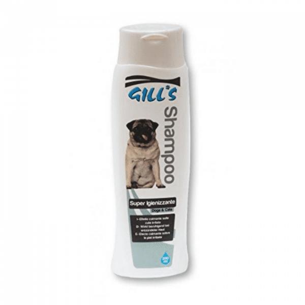 Šampūnas su raminančio poveikio gyvūnams - Šampūnas šunims ir katėms sudirgintai odai - GILLS IGIENIZZANTE C3052996