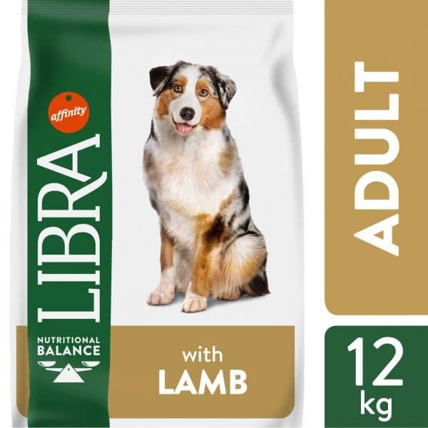 Sausas maistas šunims su ėriena - Pašaras šunims su ėriena 926242 Libra dog lamb