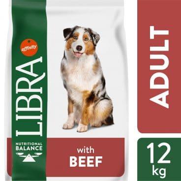 Sausas maistas šunims su jautiena - Pašar šunims su jautiena - 926234 LIBRA DOG BEEF