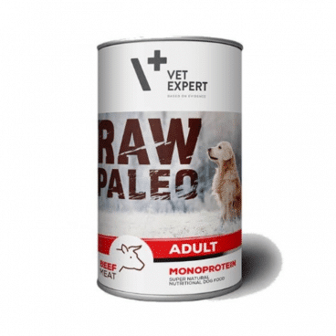 konservai šunims - konservai šunims su jautiena - Raw Paleo 202740